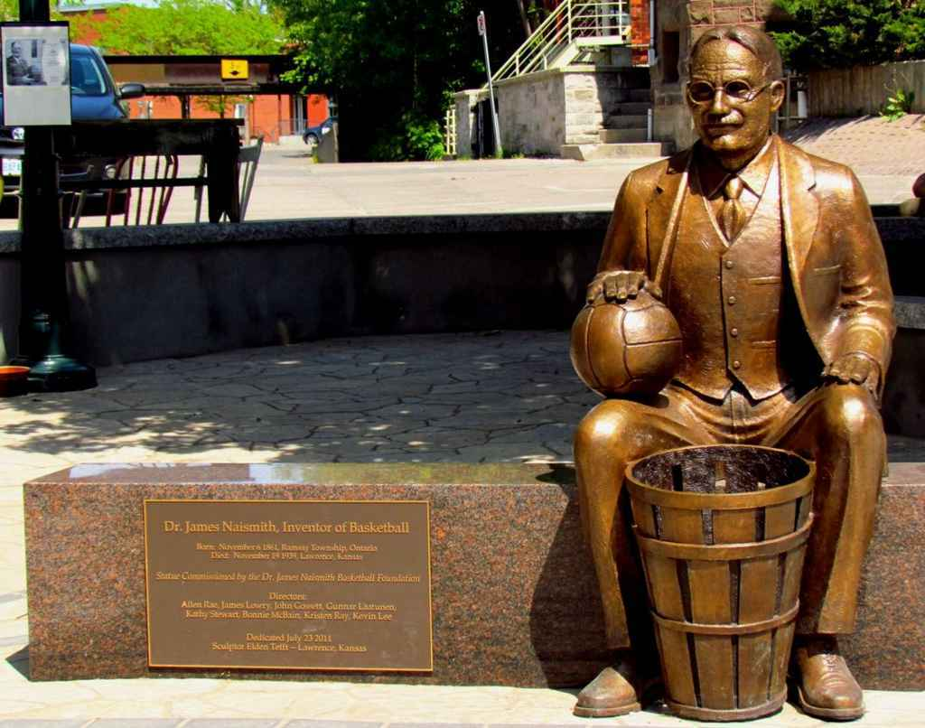 The History of Basketball Timeline in America, inventor of basketball in america, James Naismith