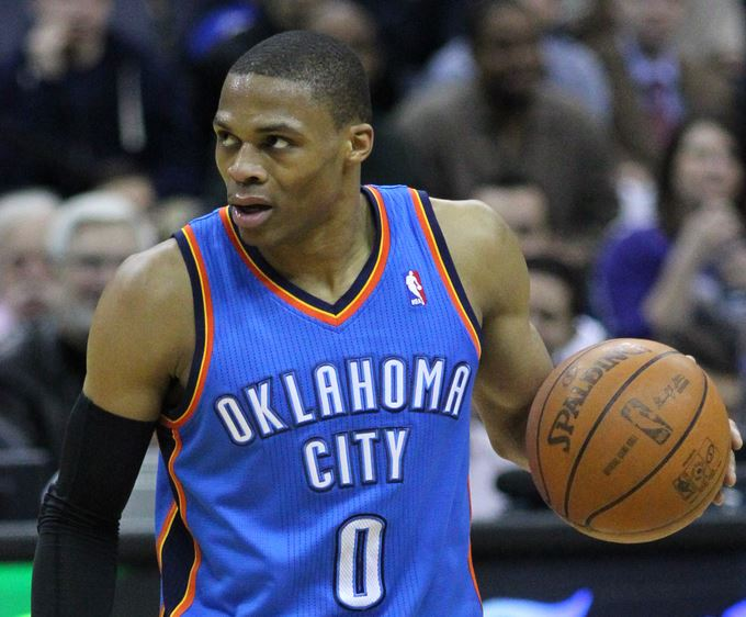 Top 10 best looking NBA players, Russell Westbrook