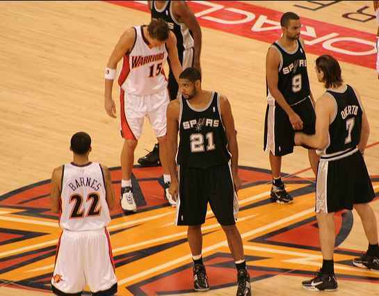 Top 10 NBA finals winners in all-time NBA Championship, San Antonio Spurs