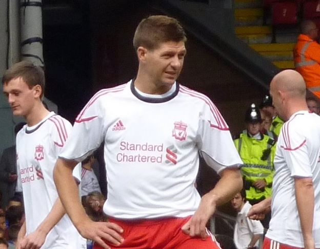 Top 10 Richest Football Players in English Premier League, Steven Gerrard
