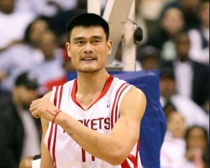 Top 10 Tallest NBA Players in the World 2015, Yao Ming