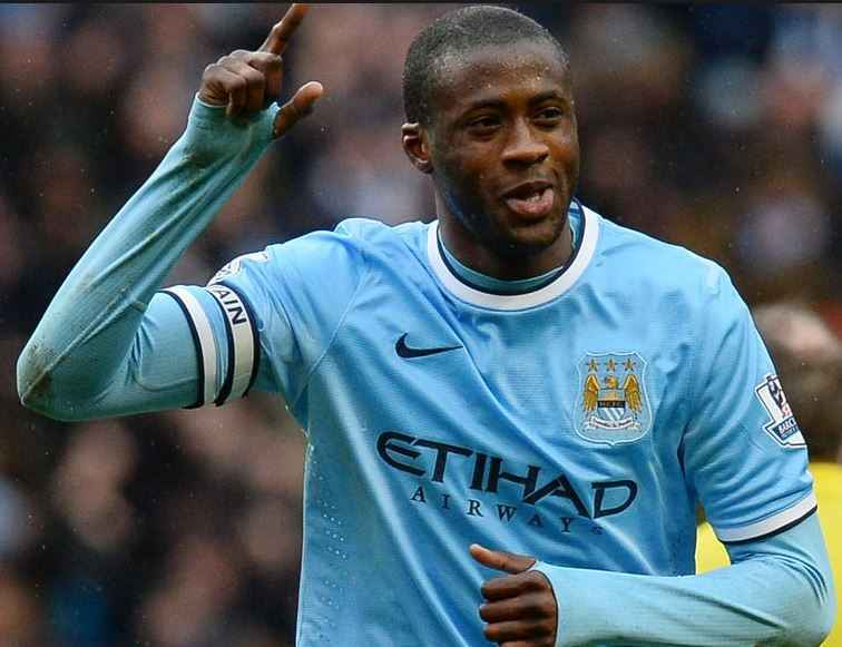 Top 10 Highest Paid Premier League Players in 2015, Yaya Toure