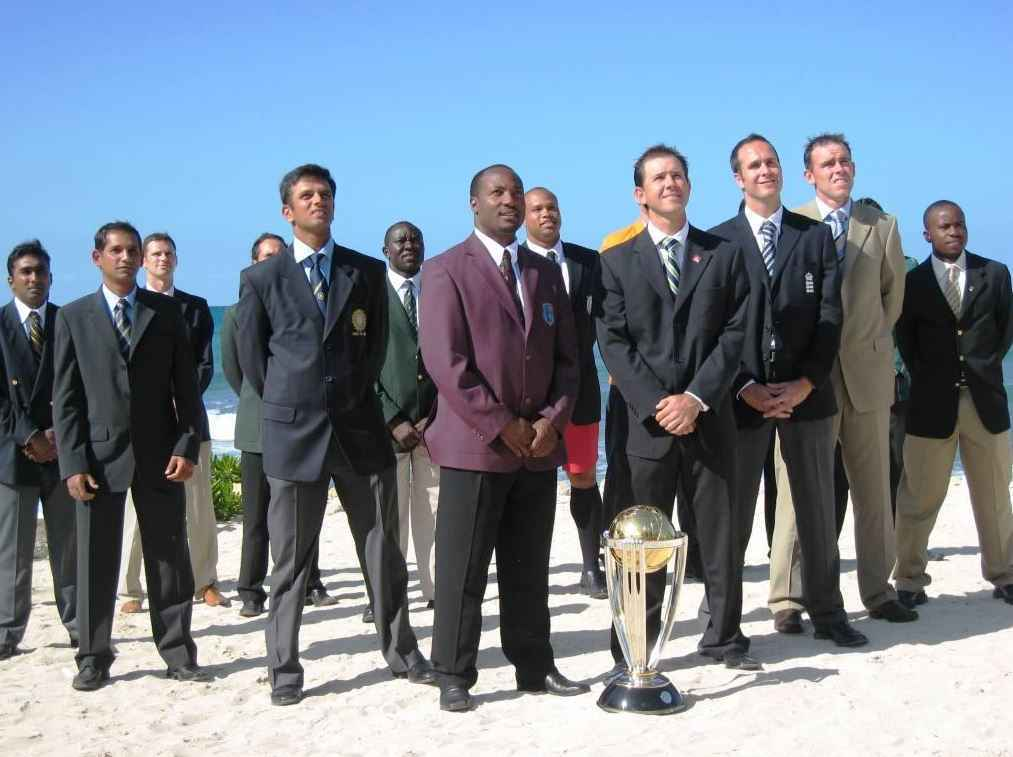 ICC Cricket world cup statistics and History, world cup cricket captains
