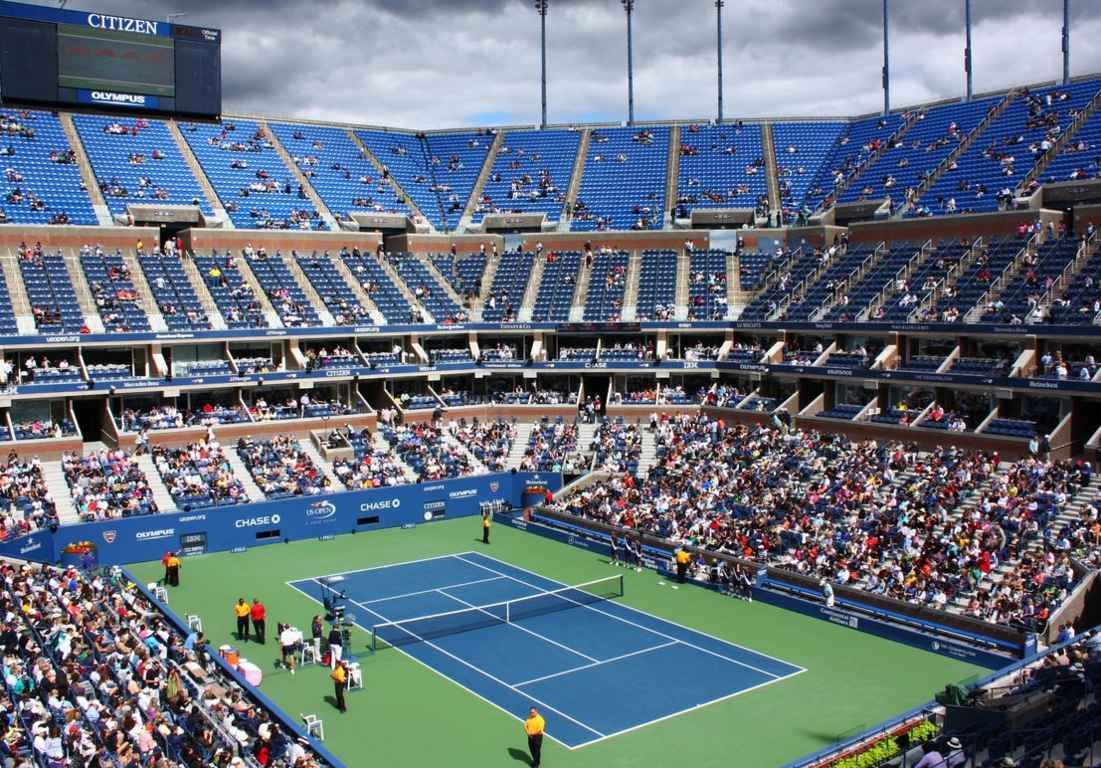 Top 10 Best Indoor Tennis Courts In The World | Tennis Court Surfaces,  Arthur Ashe
