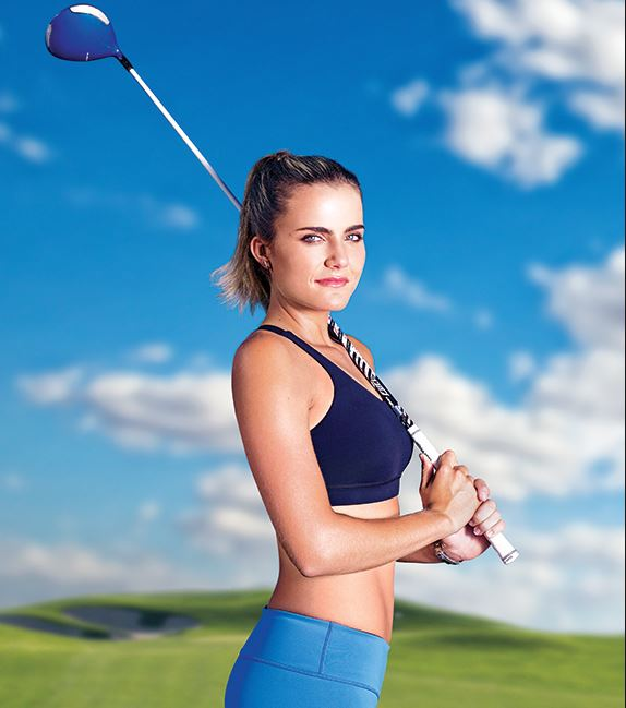 Lexi Thompson (Golf)  IMAGES, GIF, ANIMATED GIF, WALLPAPER, STICKER FOR WHATSAPP & FACEBOOK