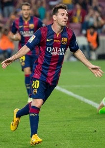 Top 10 Best Soccer Players in the World 2015, best footballer, outstanding soccer player, Lionel Messi