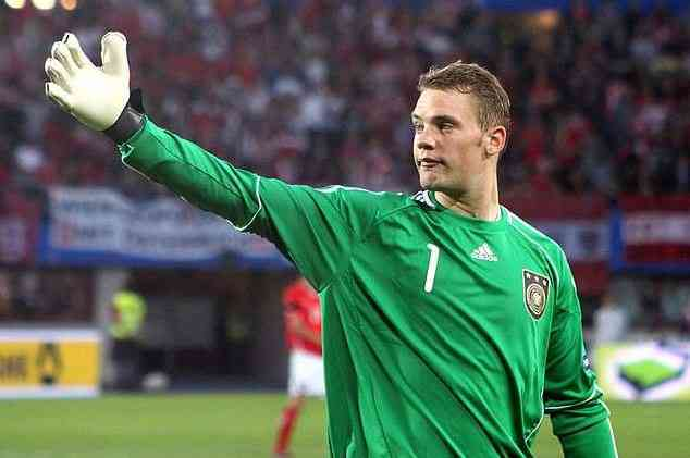 Manuel Neuer, best goalkeeper, soccer player