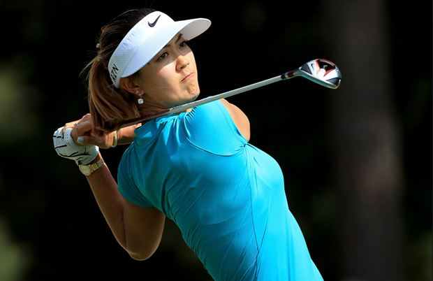 Michelle Wie (Golf)  IMAGES, GIF, ANIMATED GIF, WALLPAPER, STICKER FOR WHATSAPP & FACEBOOK