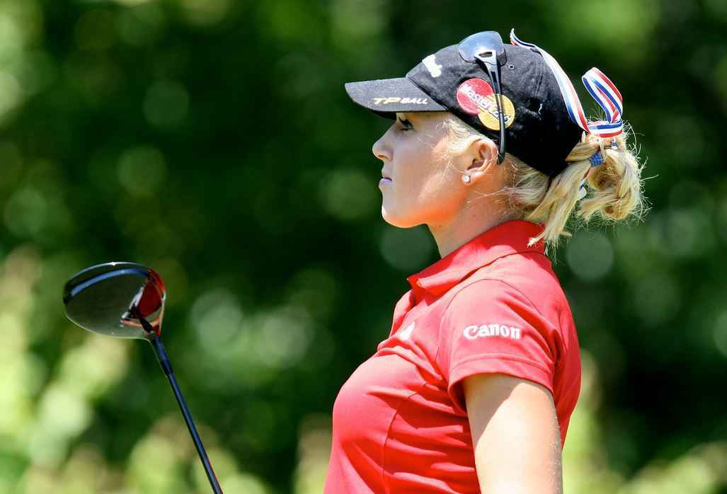 Natalie Gulbis (Golf)  IMAGES, GIF, ANIMATED GIF, WALLPAPER, STICKER FOR WHATSAPP & FACEBOOK