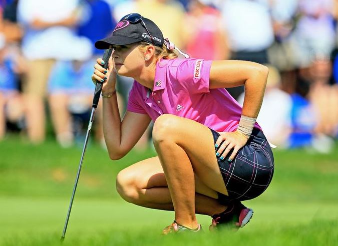 Paula Creamer (Golf)  IMAGES, GIF, ANIMATED GIF, WALLPAPER, STICKER FOR WHATSAPP & FACEBOOK
