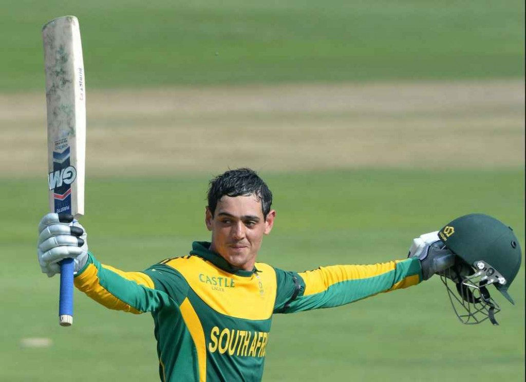 Top 10 Best Young Cricketers in 2015 ICC World Cup, Quinton de Kock
