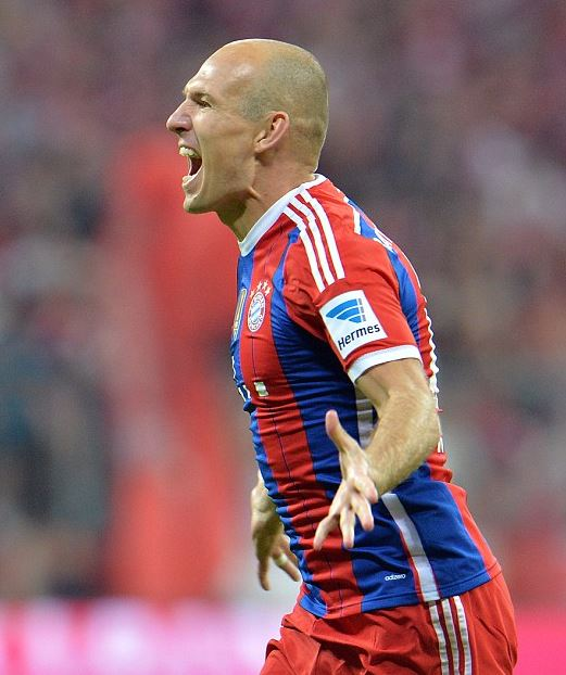 Top 10 FIFA 15 Player Ratings | FIFA 15 Best Players, RM Arjen Robben