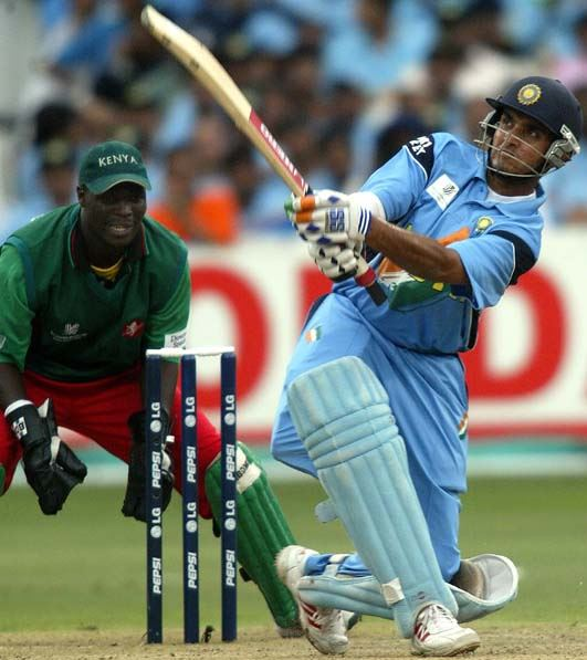 Top 10 Batsmen with Most Sixes in ODI Cricket, Sourav Ganguly