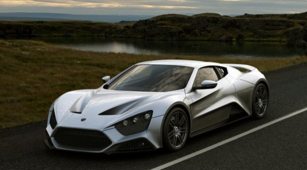 Top 10 Best Sports Cars In The World 2015, ZENVO ST 1