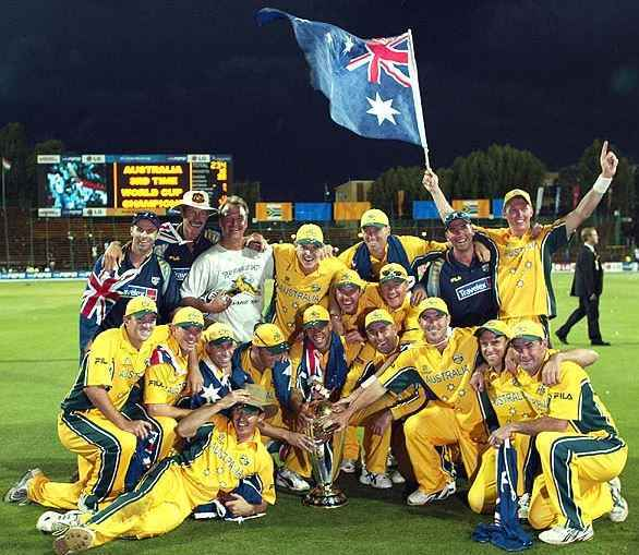 AUSTRALIA TO ENTER WORLD CUP ON TOP OF ICC RANKINGS, australia cricket achievements