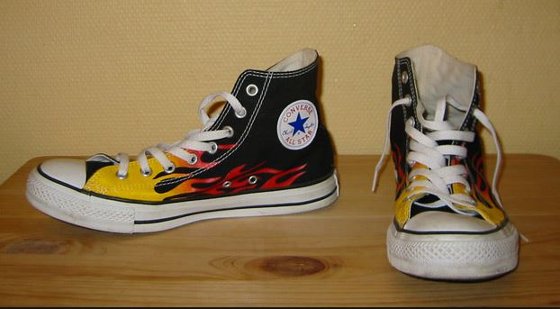 Top 10 Best Basketball Shoes of all time, Chuck Taylor All Stars