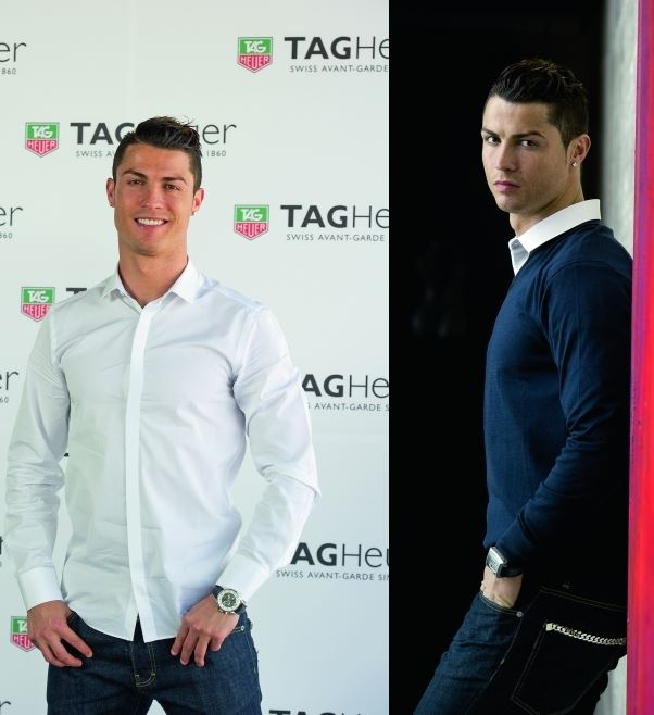Cristiano Ronaldo Net Worth 2015, Cristiano Ronaldo with Tag Heuer