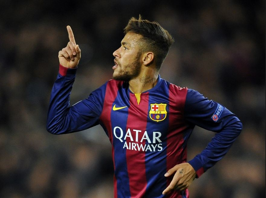 Neymar Net Worth 2015, barcelona goal celebration