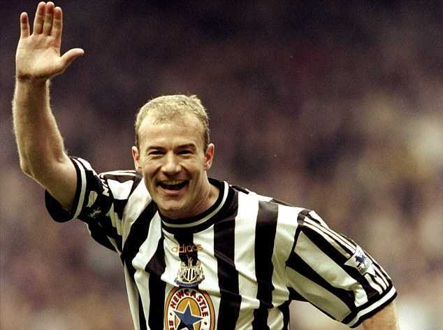All time Top Goal Scorers, Allan Shearer