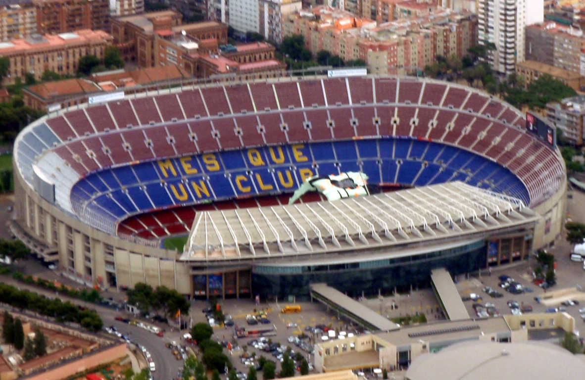 Top 10 Biggest Football Stadiums in the World, Camp Nou