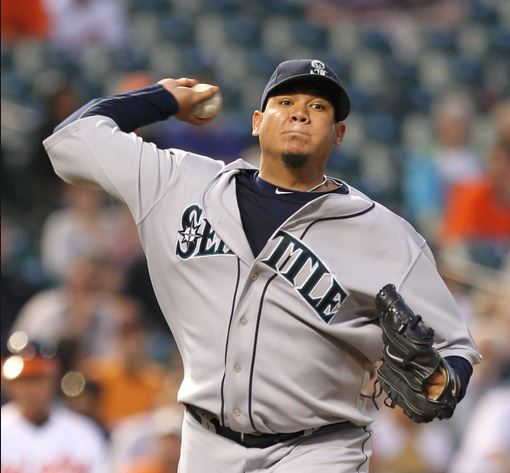 Top 10 Highest Paid Baseball Players 2015, Felix Hernandez