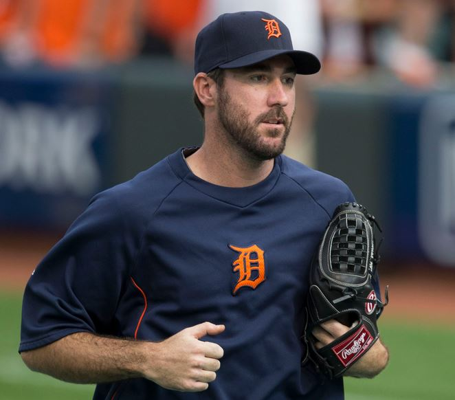 Top 10 Highest Paid Baseball Players 2015, Justin Verlander