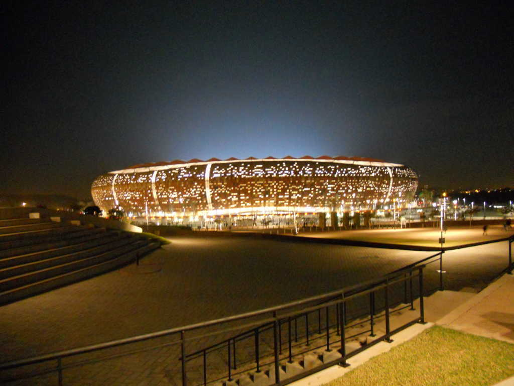 Top 10 Biggest Football Stadiums in the World, The FNB Soccer City Stadium