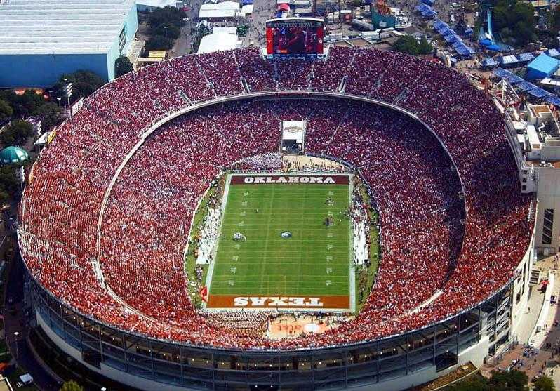 College Bowl Games >> Top 10 Biggest Football Stadiums in the World