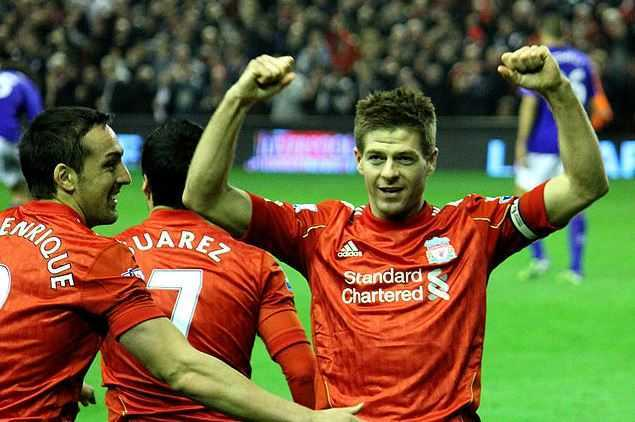 Top 10 Best Penalty Takers in Football World, Steven Gerrard
