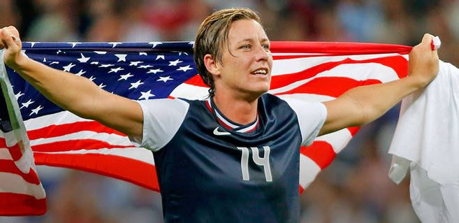 Top 10 Best Female Soccer Players of all time, Abby Wambach