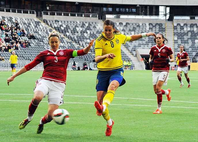Top 10 Players at the 2015 Women's World Cup, Lotta Schelin, Sweden