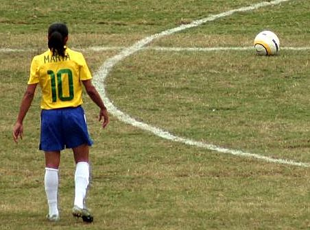 Top 10 Best Female Soccer Players of all time, Marta
