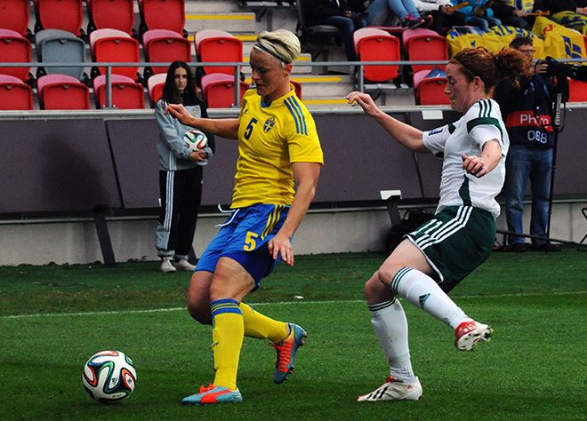 Top 10 Players at the 2015 Women's World Cup, Nilla Fischer, Sweden