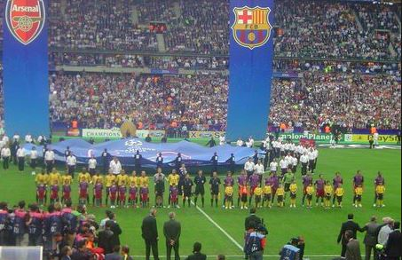 Barcelona's Previous Four Champions League Titles, Paris (2006)