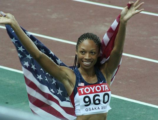 Top 10 Best Female Athletes in America, Allyson Felix, great american female athletes