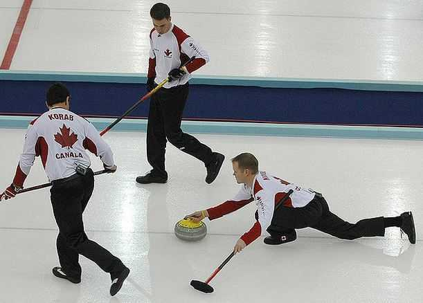 Top 10 Most Popular Sports in Canada, curling