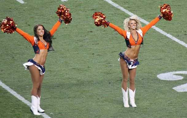 Denver Broncos cheerleaders, top cheerleaders