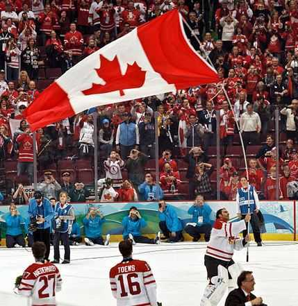 Top 10 Most Popular Sports in Canada, ice hockey canada