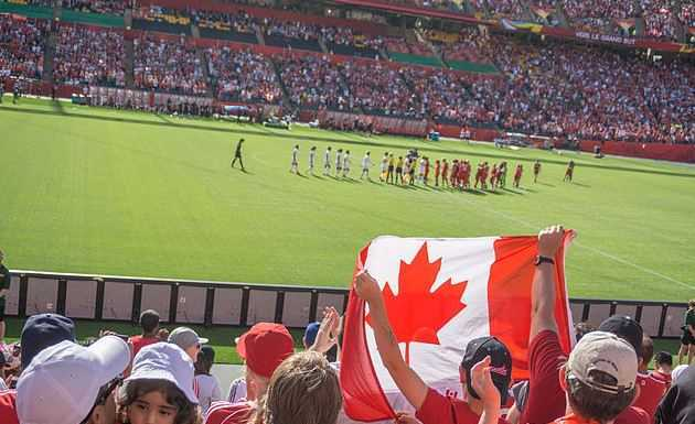 Top 10 Most Popular Sports in Canada, soccer in canada