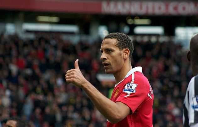 Rio Ferdinand, Manchester united legends