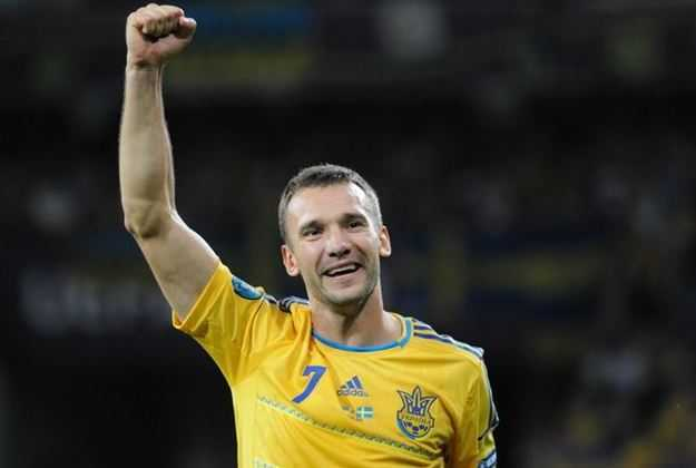 Andriy Shevchenko, champions league top scorer