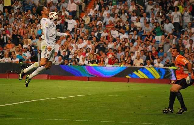 Cristiano Ronaldo can jump higher than the average NBA players,