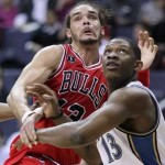 Joakim Noah struggles in return from shoulder injury