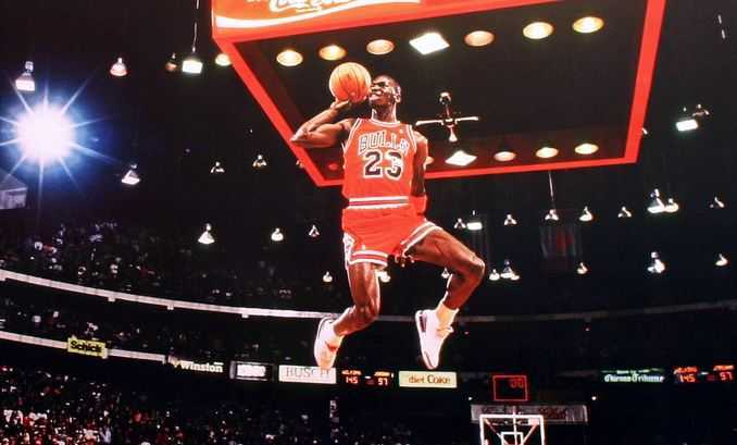 Michael Jordan, famous NBA players