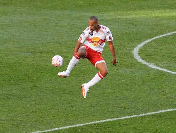 Thierry Henry, great french footballer