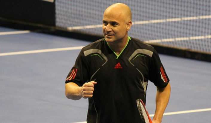 Andre Agassi, greatest tennis players