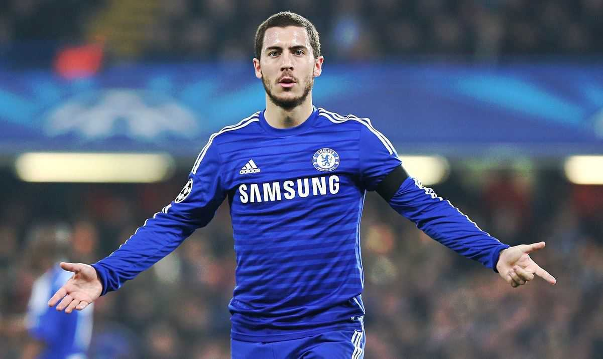 Eden Hazard, young star, next generation footballers