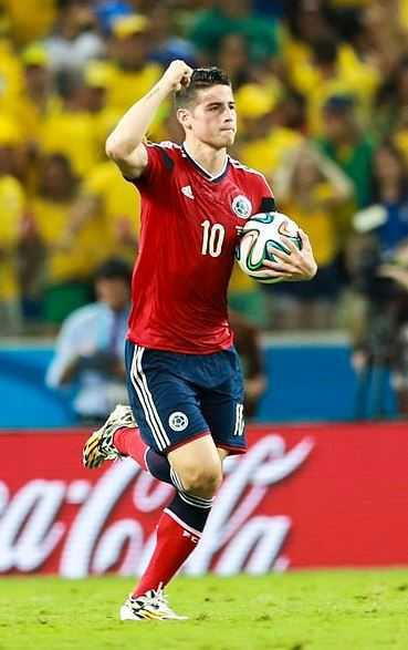 James Rodriguez, best football star, young star