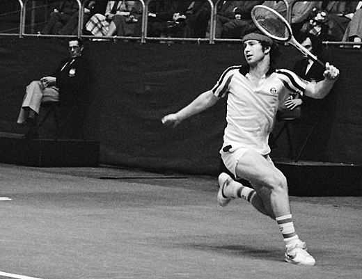 John McEnroe, top tennis players