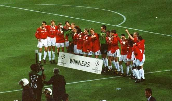 Manchester United in 1999 UCL, best team in UCL, champions league football teams